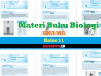Materi Buku Biologi SMA/MA Kelas 11