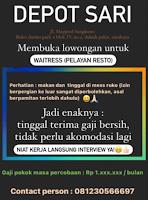 Info Loker Surabaya di Depot Sari Januari 2021