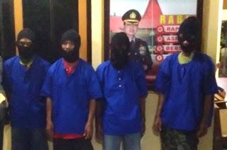 4 Warga Trucuk Digerebek Polisi Saat Asyik Domino