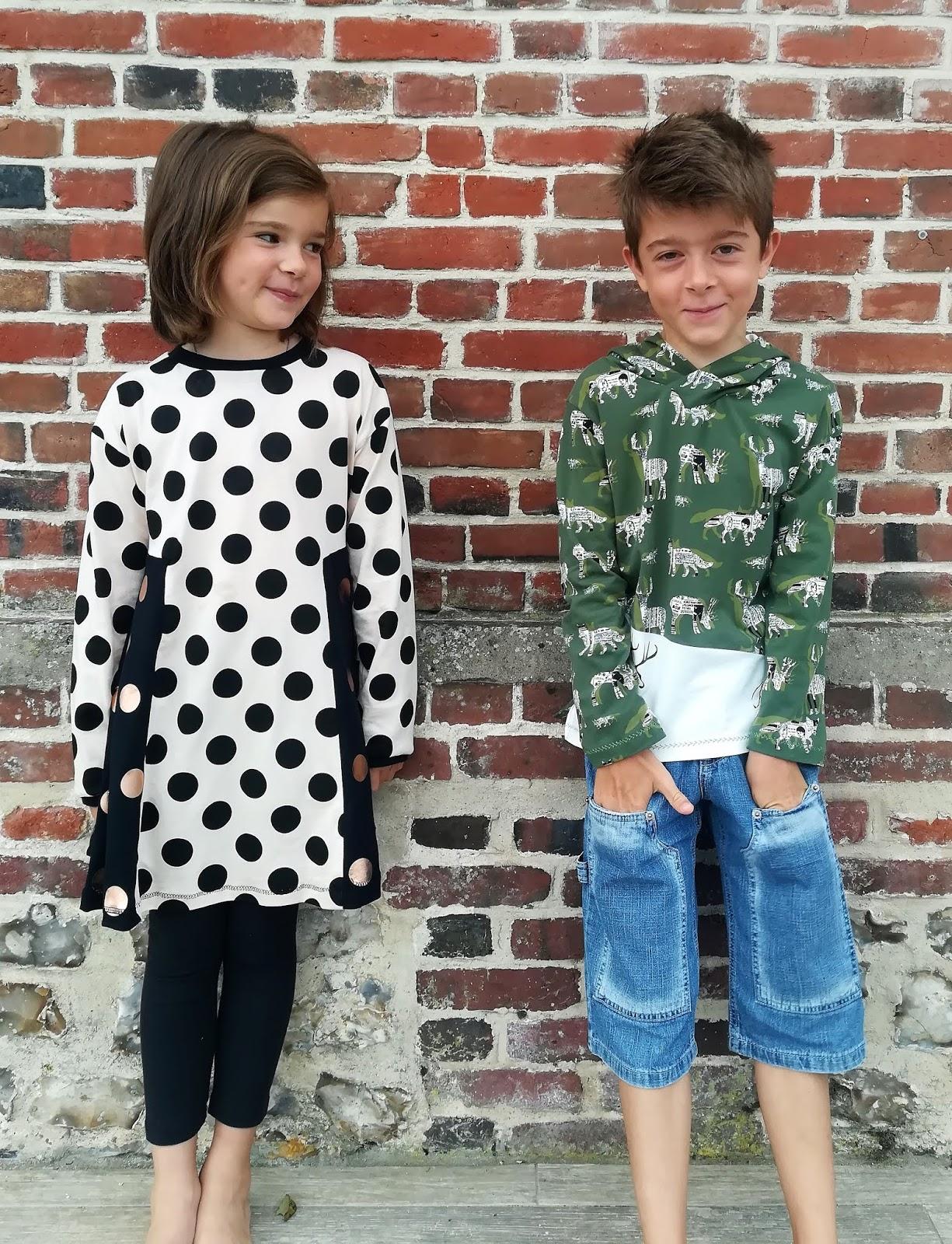 couture jersey enfant