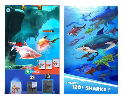 لعبة Hungry Shark Heroes