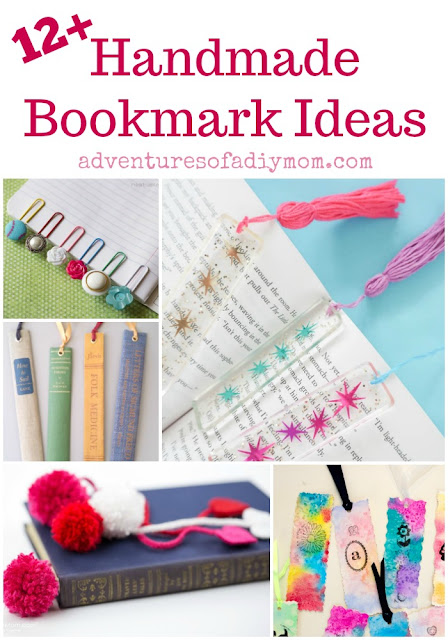 Handmade Bookmark Ideas Collage