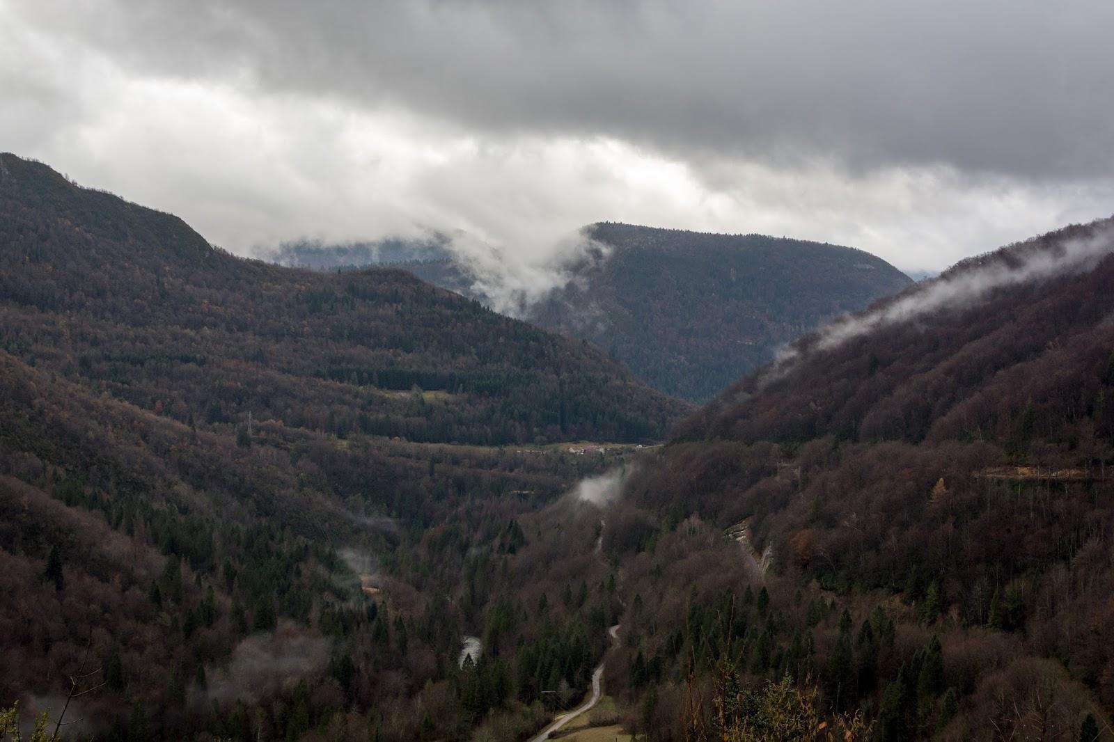 paysage, parc, Jura, automne, rando