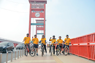 Ampera bridge palembang