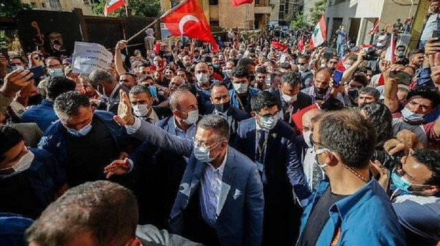 ترجمة تركيا بالعربي - آفاد التركية محبة سكان بيروت تزيد من مسؤولياتنا نحوهم