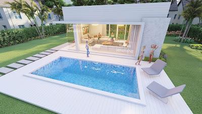 แบบต่อเติม, แบบบ้านริมสะว่ายน้ำ, แบบเรือนรับรอง