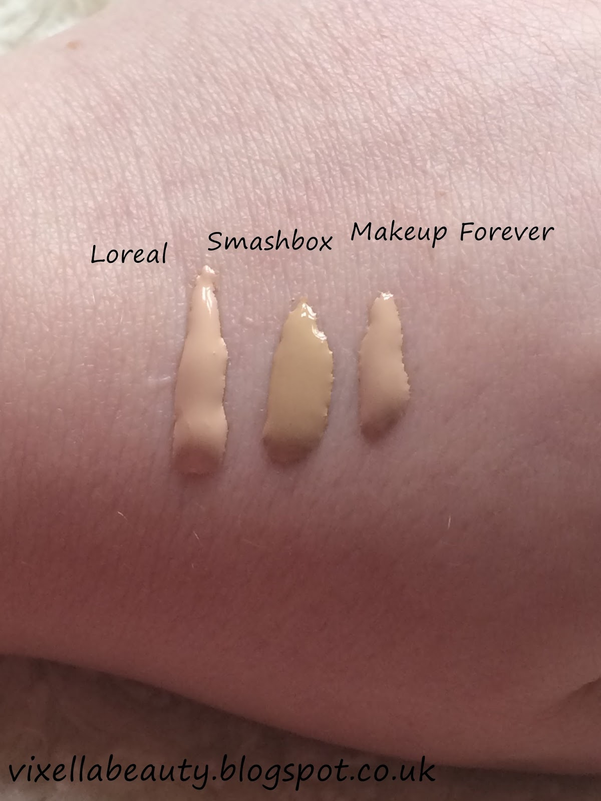 HOLY GRAIL FOUNDATION SWATCHES