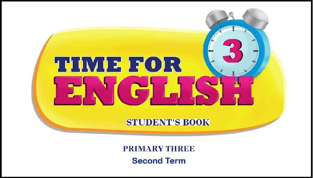 كتاب Time for English للصف الثالث الابتدائي الترم الثاني