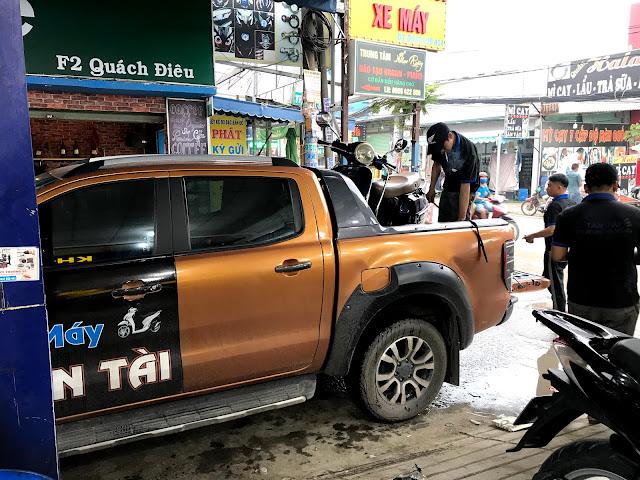 Cứu hộ xe máy Sài  Gòn