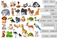 Wild Animals in Serbian