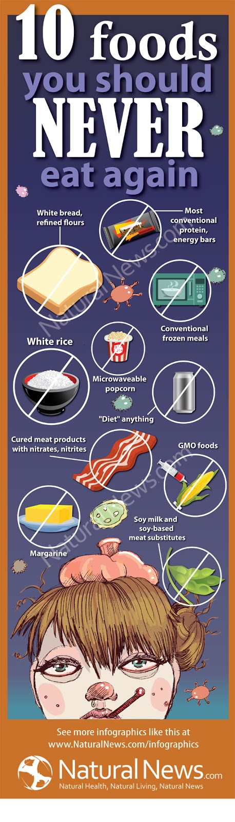 Infographic-Ten-Foods-to-Never-Eat-Again
