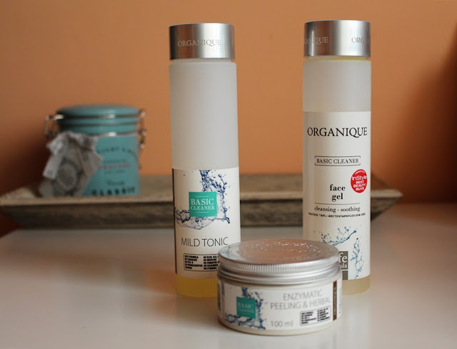 Organique Basic Cleaner | żel, tonik i peeling enzymatyczny |