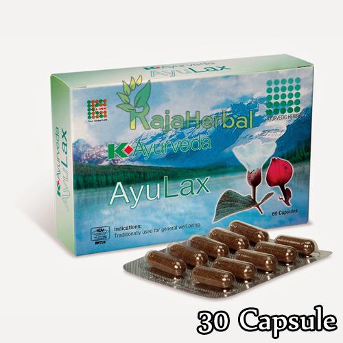 K-Ayurveda AyuLax 30 Capsule