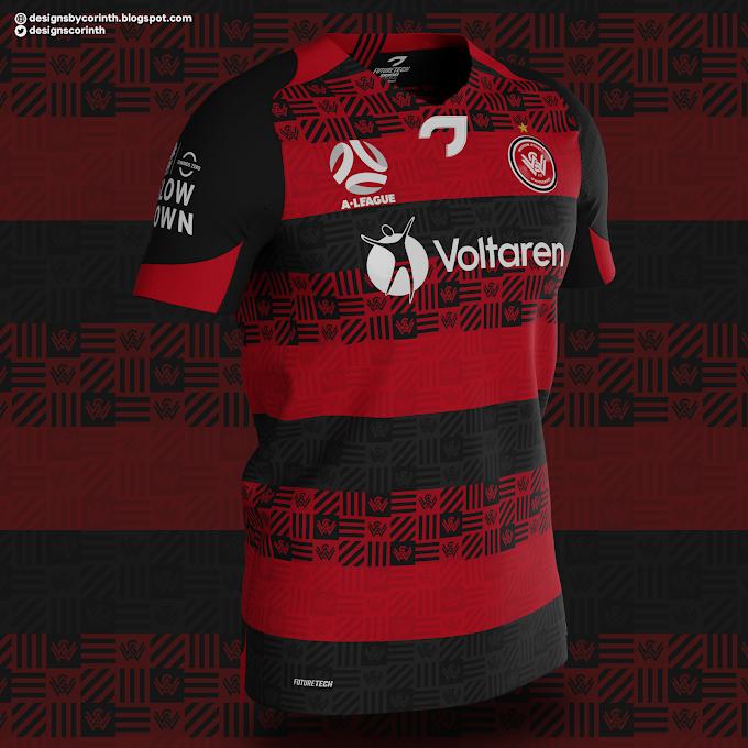 Western Sydney Wanderers - Home Shirt Concept
