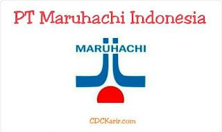 Loker cikarang PT Maruhachi Indonesia 2019