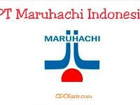 Lowongan Kerja PT Maruhachi Indonesia Cikarang November 2019