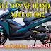 Bảng giá sơn xe máy Honda Airblade 2012 đầu bò