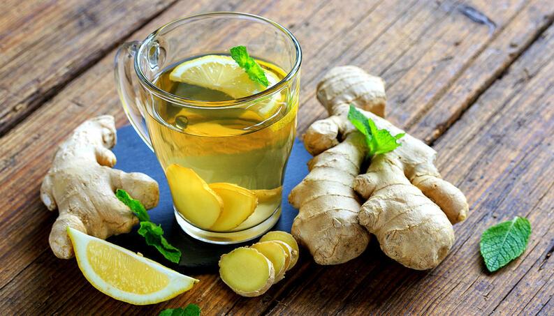 Chá Verde de Gengibre