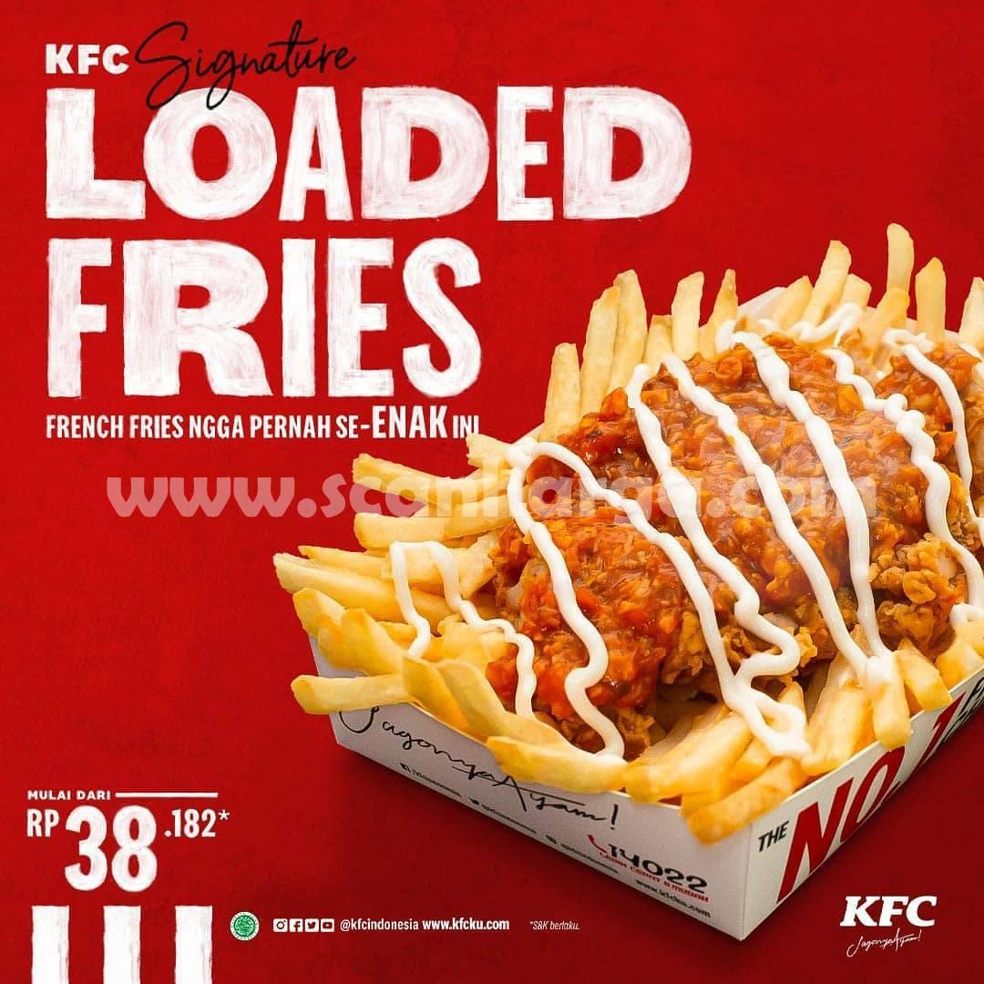Promo KFC Signature Loaded Fries - Harga mulai dari Rp. 38.182