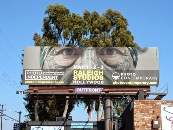 Raleigh Studios Photo Contemporary exhibit billboard