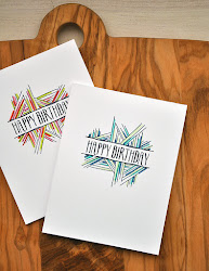 birthday card cards happy homemade drawing aesthetic diy simple handmade gifts bday ink november easy papertrey maile belles christmas drawings