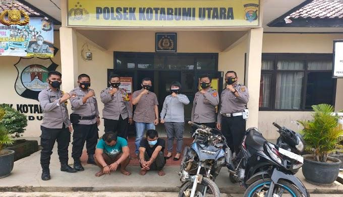 Polsek Kotabumi Utara Berhasil Ciduk Dua Tersangka Curanmor