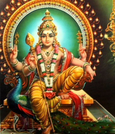 Hindu God skanda ji pic