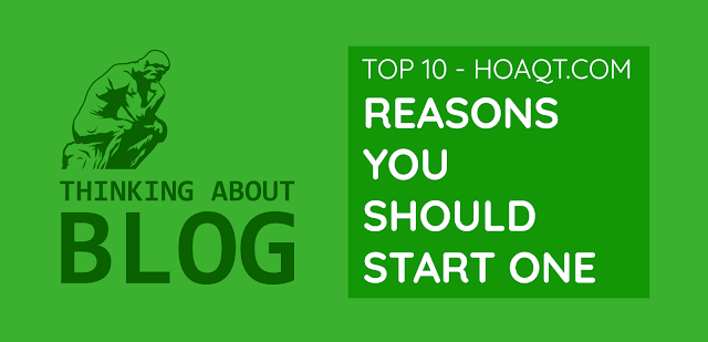 Thinking about blog, reasons you should start one