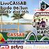 [LiveCASSAB] O CASSAB realizará uma Live neste sábado, 6 de Junho, para divulgar os nomes das Novas Churrasqueiras