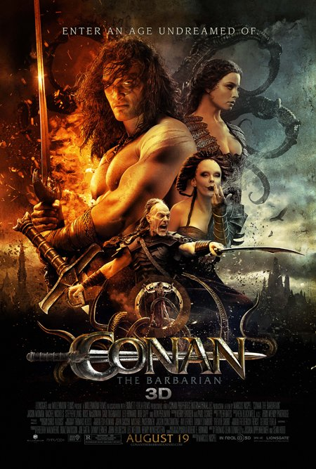 Conan the Barbarian remake movie poster
