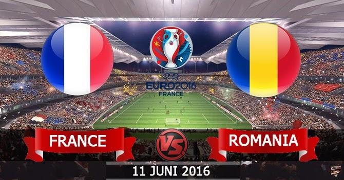 Hasil Skor Piala Eropa 2016: Prancis vs Rumania