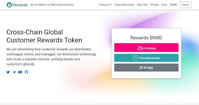 Screenshot Website Rewards (RWD)