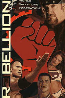 WWE / WWF Rebellion 2000 - Event poster