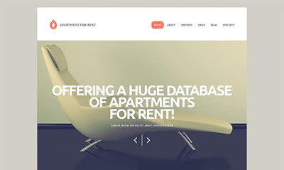 Elegant Rental Services WordPress Theme