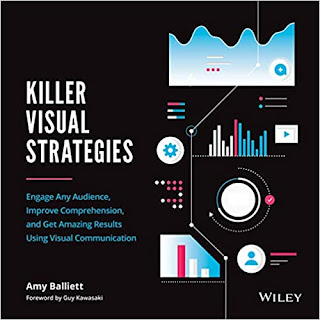 Killer Visual Strategies: Engage Any Audience, Improve Comprehension, and Get Amazing Results Using Visual Communication Amy Balliett book promotion