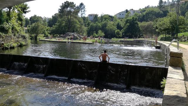 Aguas limpidas do Rio Peio