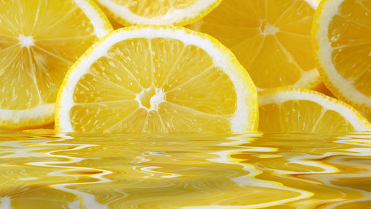 عصير الليمون للتخلص من الكرش