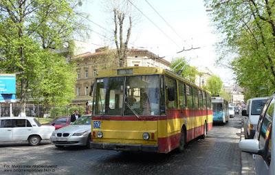 Trolejbus Škoda 14Tr #552, Lwów