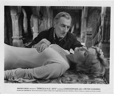 Dracula Ad 1972 Stephanie Beacham Peter Cushing Image 1