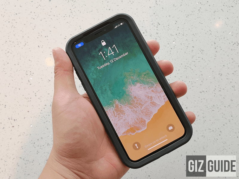 Meet LifeProof SLAM for iPhone X Case - Drop proof your X