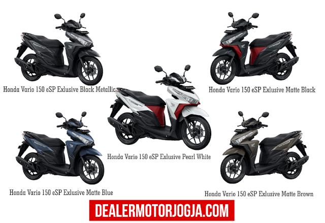 Promo Harga Terbaru Cash – Kredit Honda New Vario 150 Esp September 2016 Jogja
