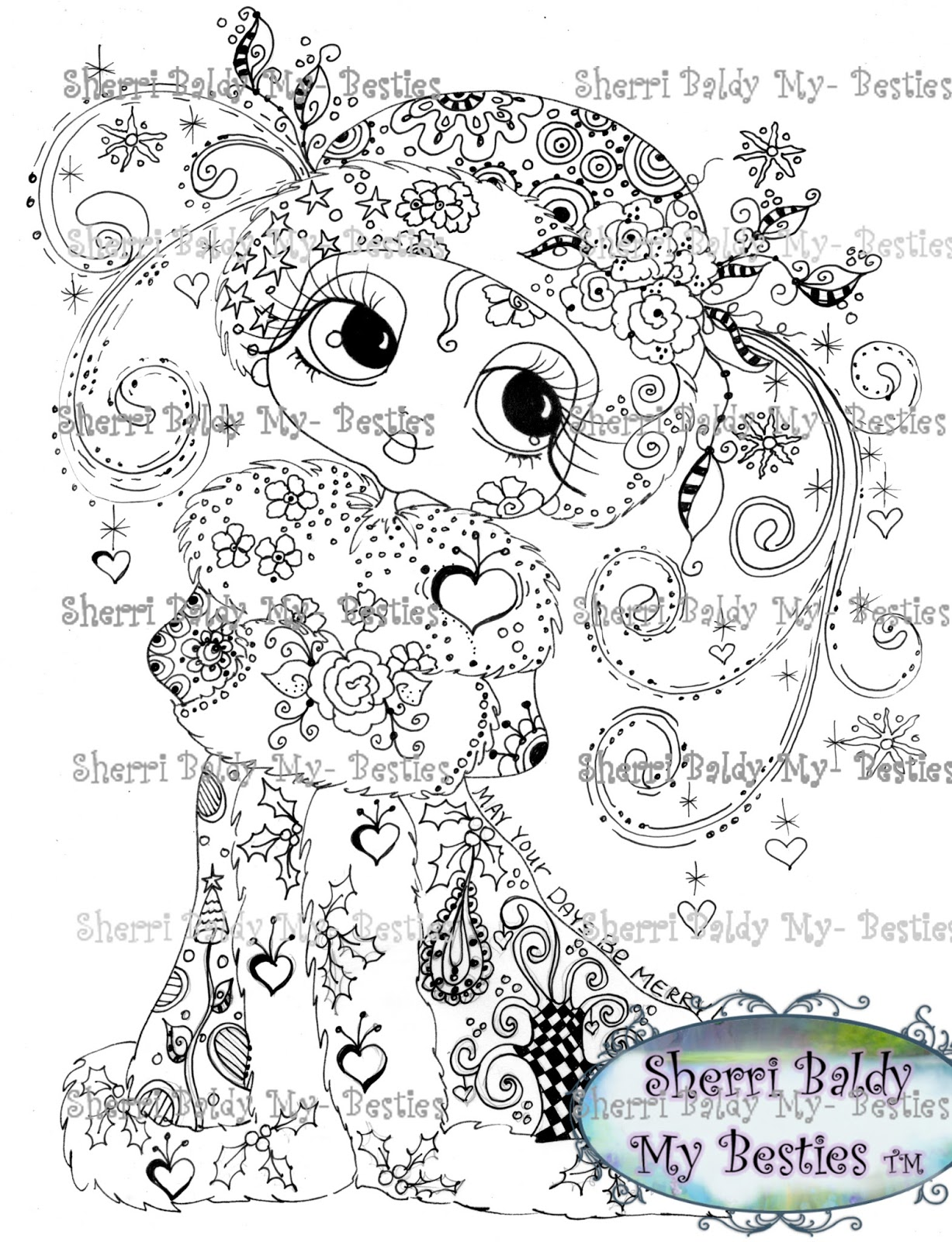 Sherri Baldy Art: Sherri Baldy's Brand New Release