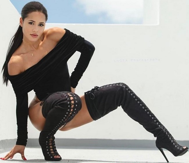 A modelo fitness e personal trainer Katya Elise Henry