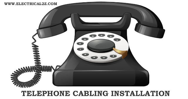 phone line installation, telephone cabling installation, new phone line installation, phone jack installation @electrical2z