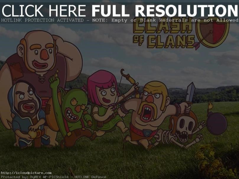 clash of clans kartun