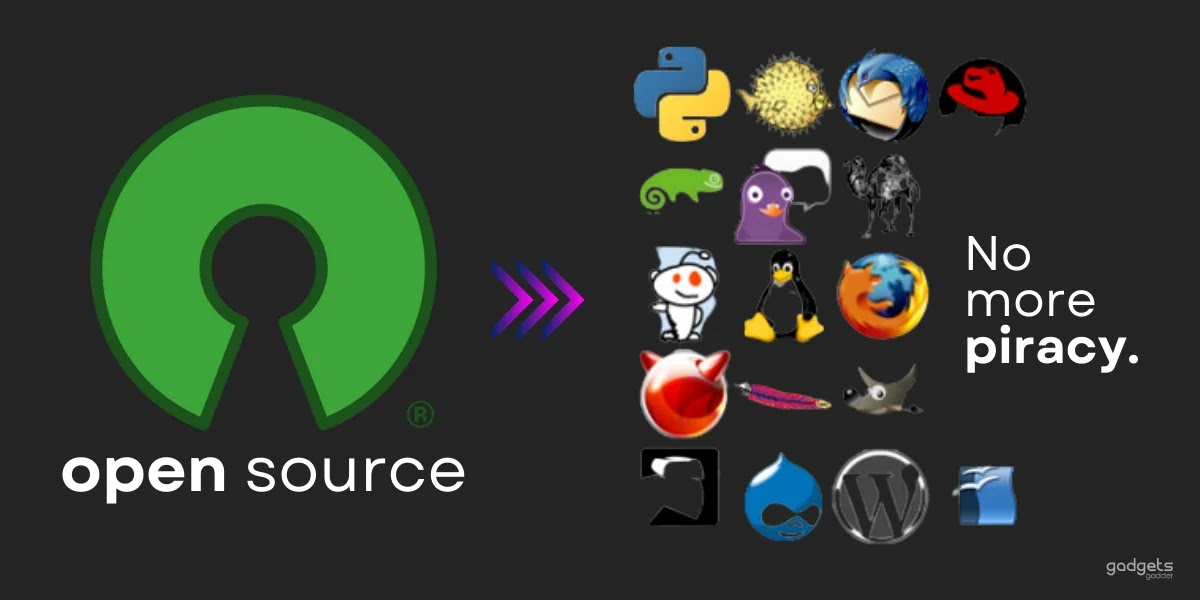 open source softwares are better than commercial softwares