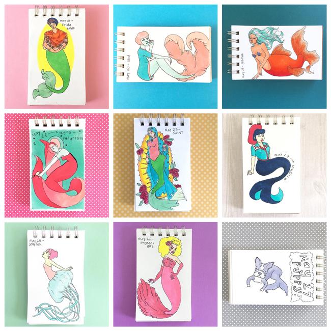 Sketchbook Round-Up: Volume 29 | Jessi Corsentino