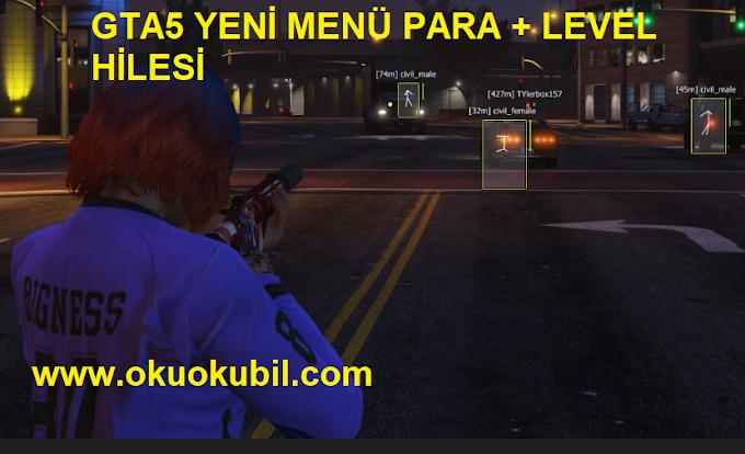 GTA5 Online 1.50 Yeni Menü Para ve Level Hilesi İndir 2020