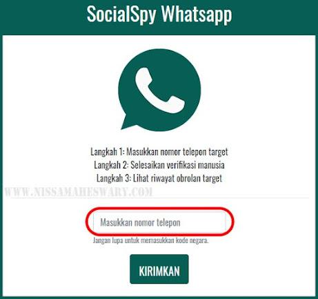 SocialSpy whatsapp situs web sadap whatsapp tanpa download aplikasi