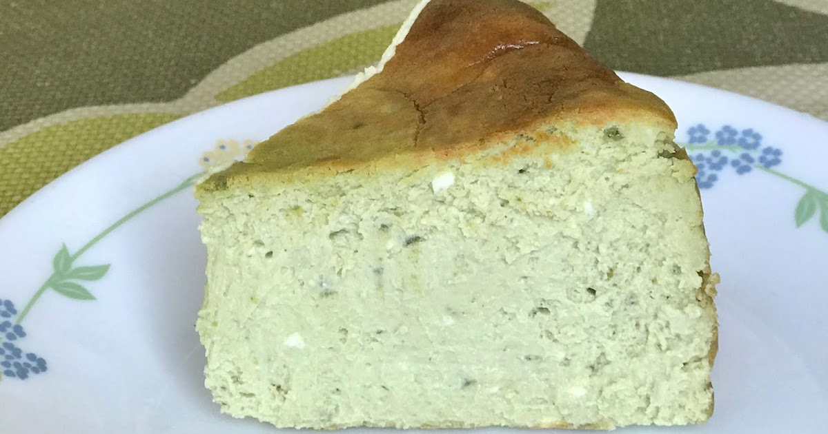 Gastronomic Mis Adventures Recipe Matcha Basque Burnt Cheesecake